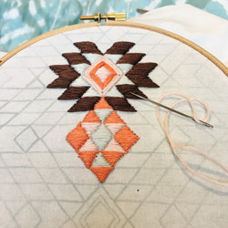 Patterned Embroidery Workshop