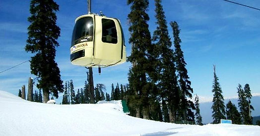 Kashmir Tour, Gulmarg Gondola Riding