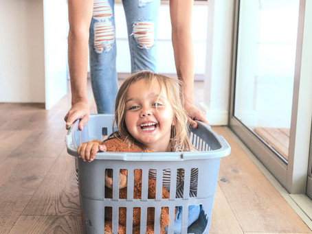 9 Creative Uses for an Empty Laundry Basket
