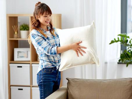 Simple DIY No-Sew T-Shirt Pillow