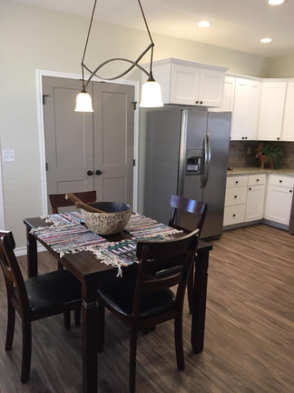 Cabinets and Trim are available in a variety of stain options.