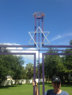 Cross of United Christians and Jews