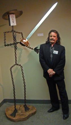 Don Quixote in the Orlando Museum of
