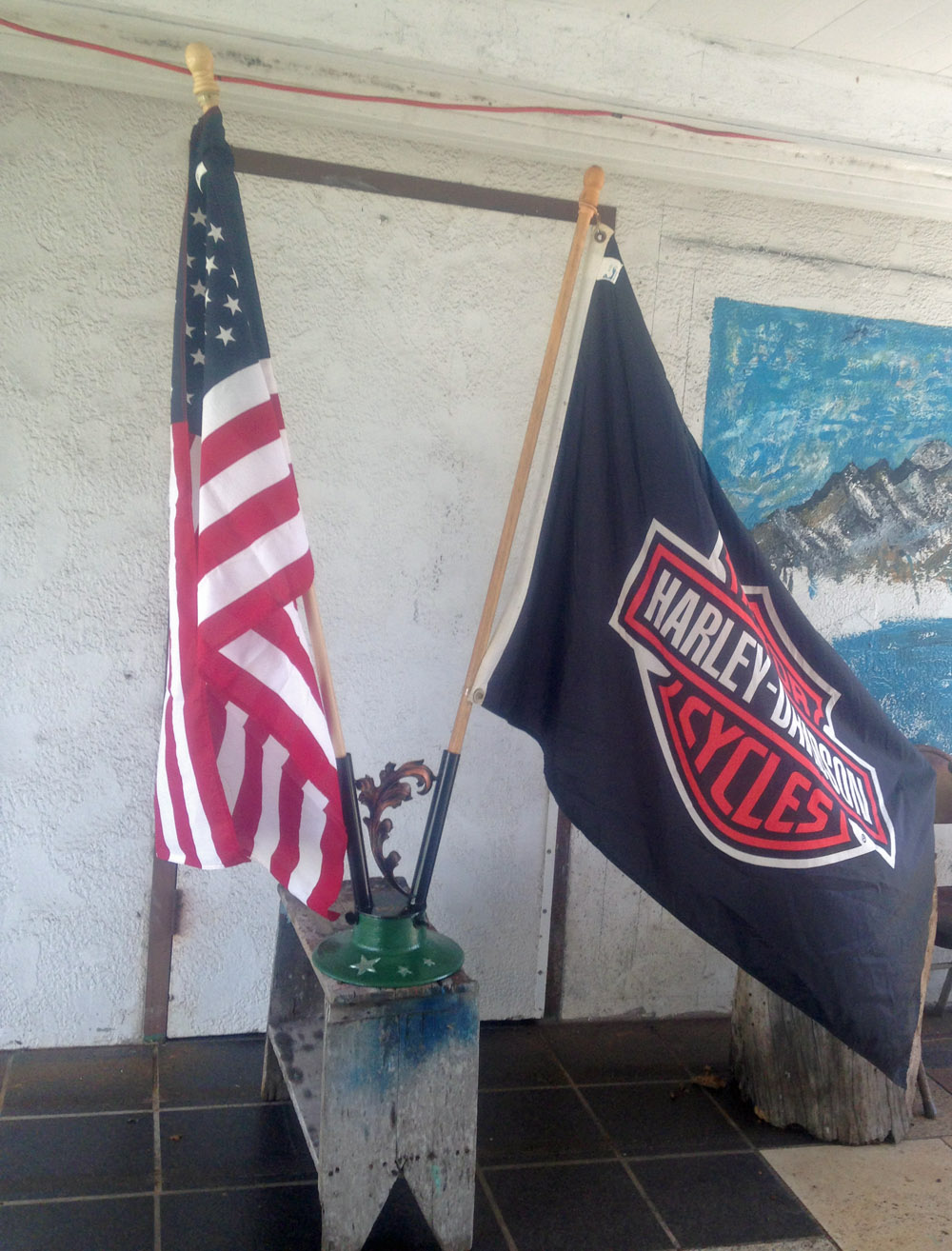 Flag Pedestal