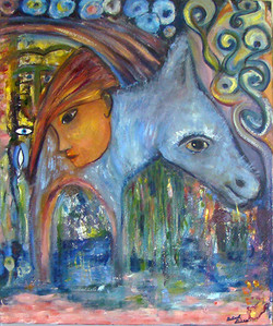 French Lady and the Donkey - 2006