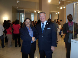 Rafael and the mayor of Orlando, Bud