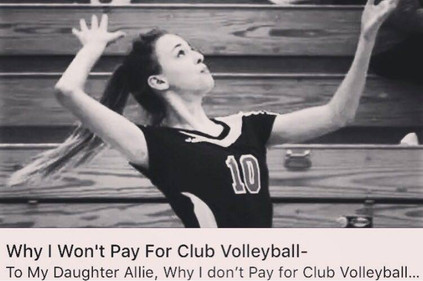 Why I Won't Pay For Club Volleyball