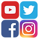 group social media logos