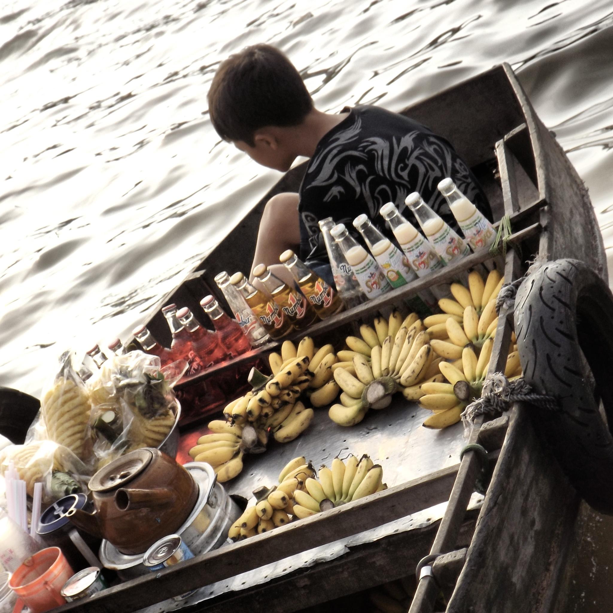 Mekong market, Vietnam