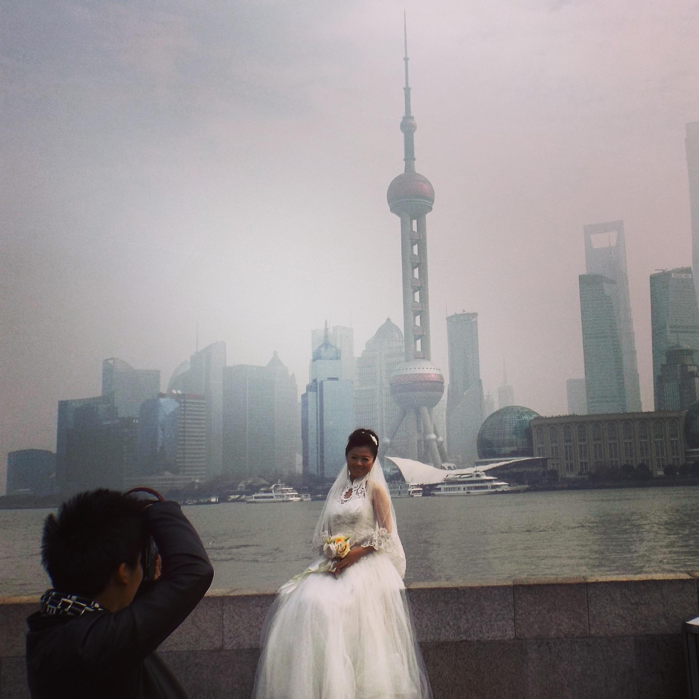Wedding pictures, Bund