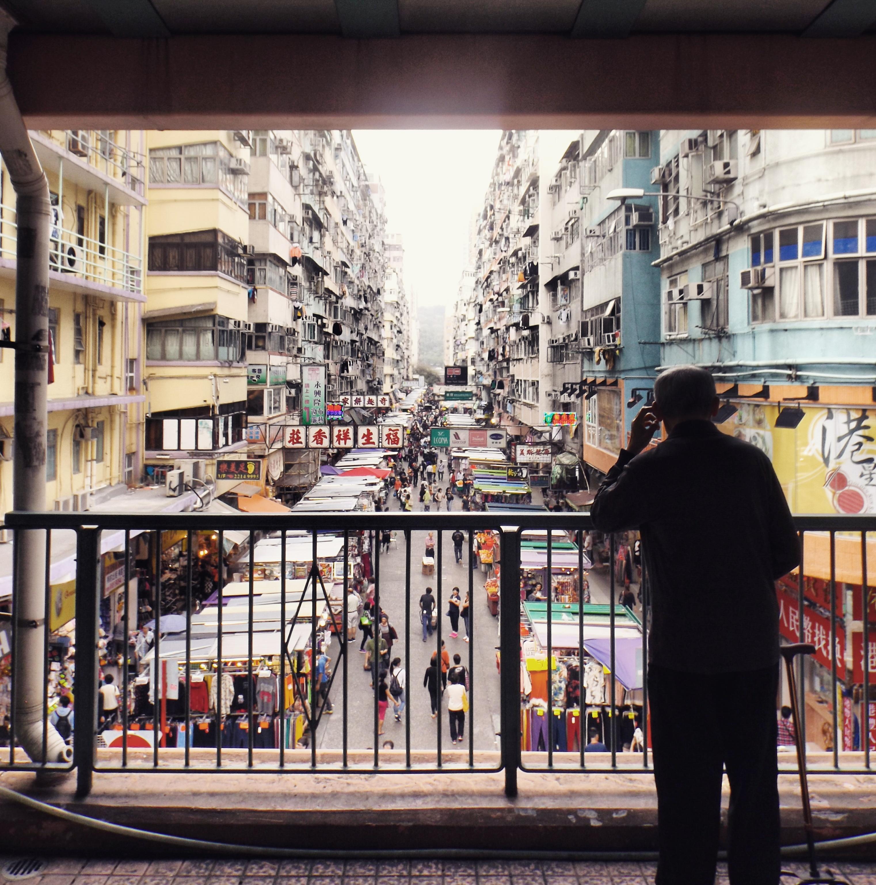 Street market, HK