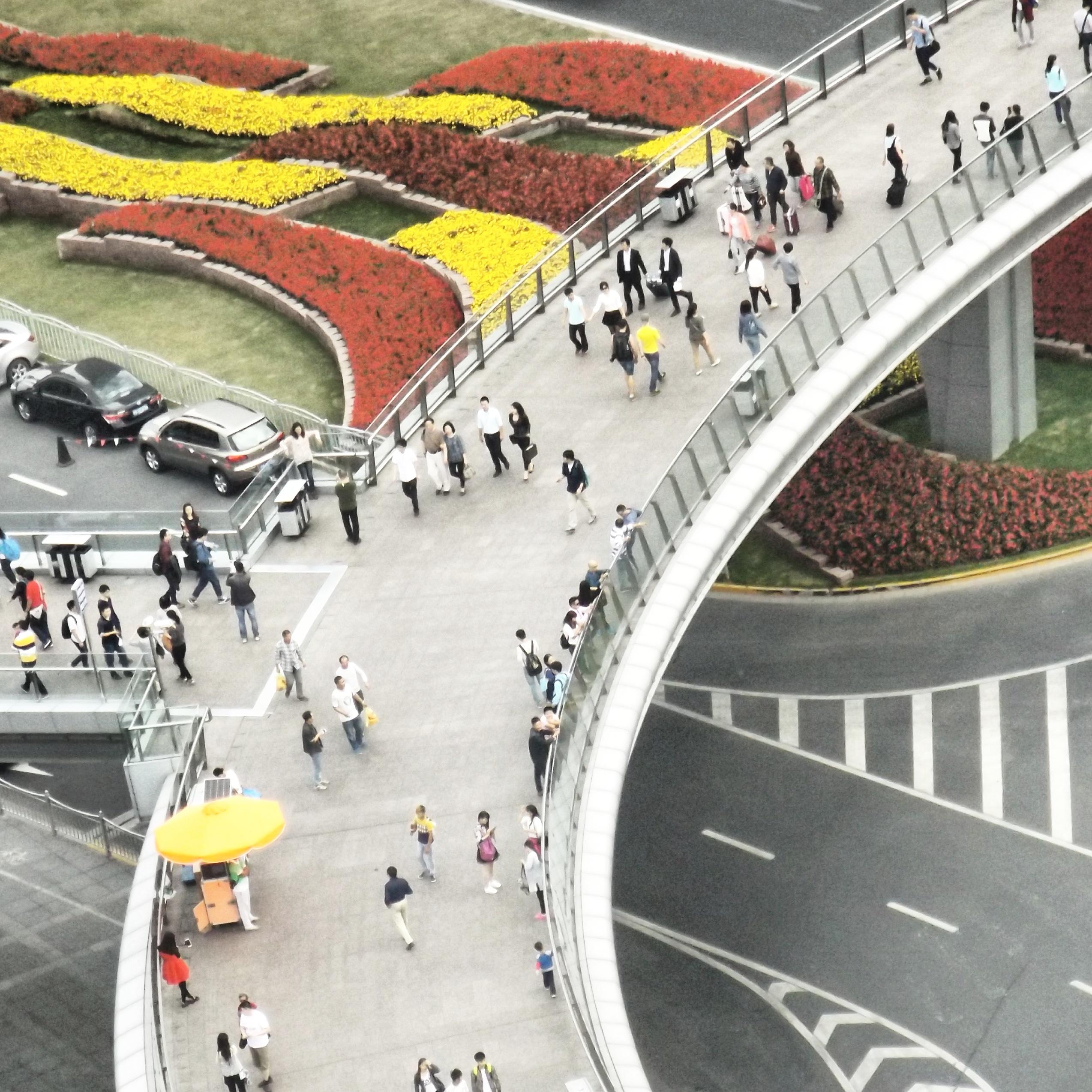Elevated road, Lujiazhui