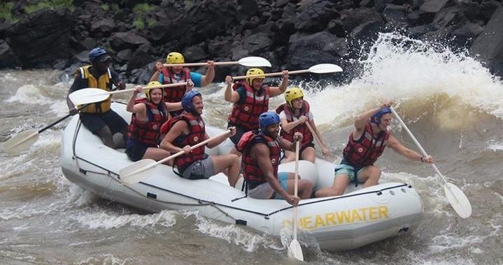 White Water Rafting in the Zambezi