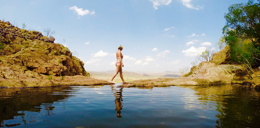 Gunlom Falls Infinity Pool, Kakadu National Park