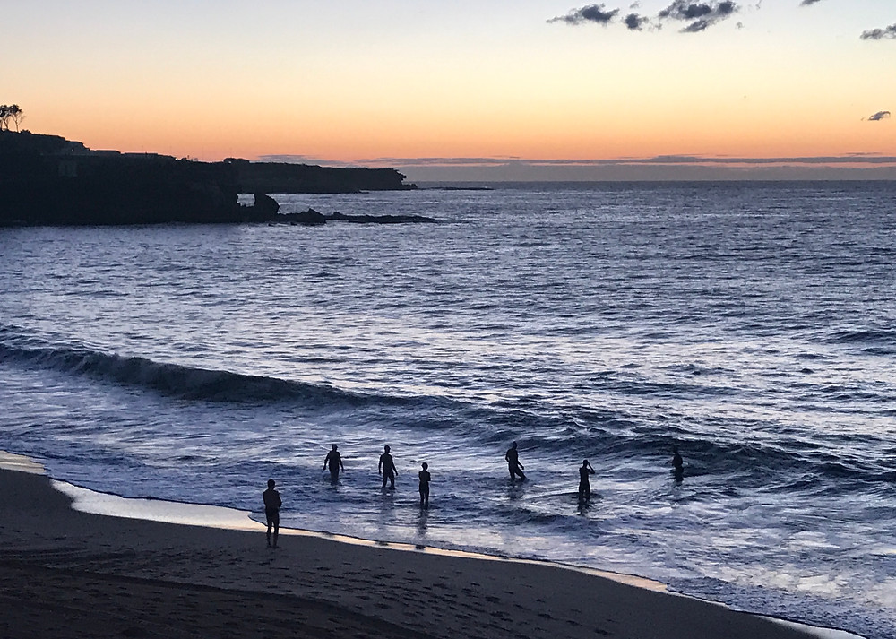 Winter Swimming at Coogee Beach