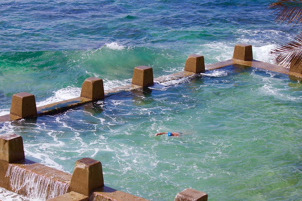 Winter swimming in Sydney