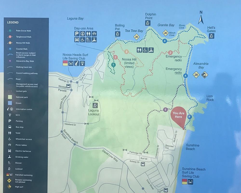 Noosa National Park Walking trails