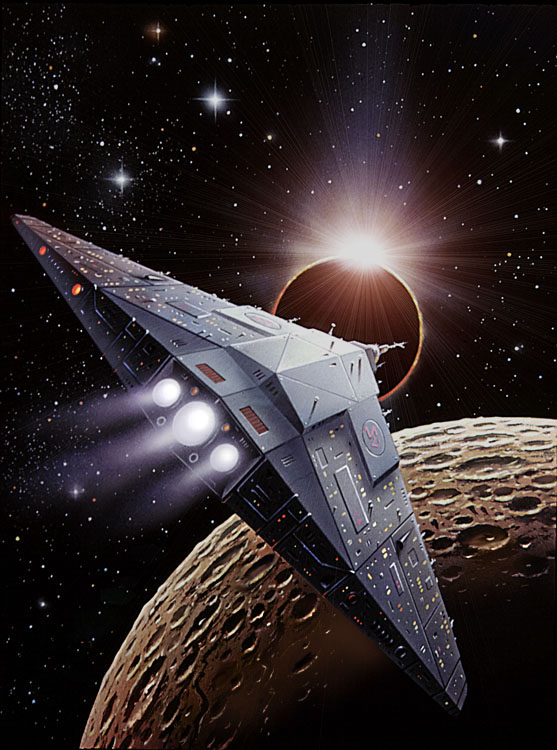 Returning starship