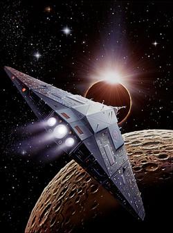 Returning starship