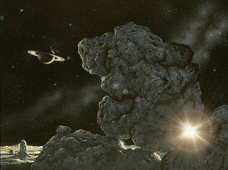 Iapetus Rock