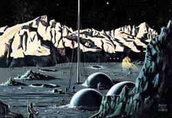 Lunar Base, 1954