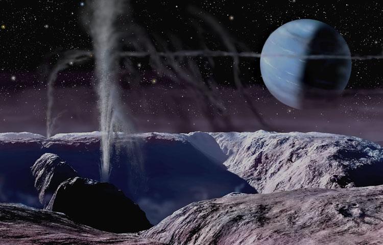 Geyser on Triton 2004