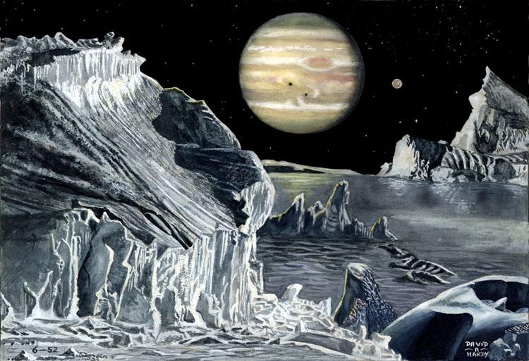 Jupiter from Europa