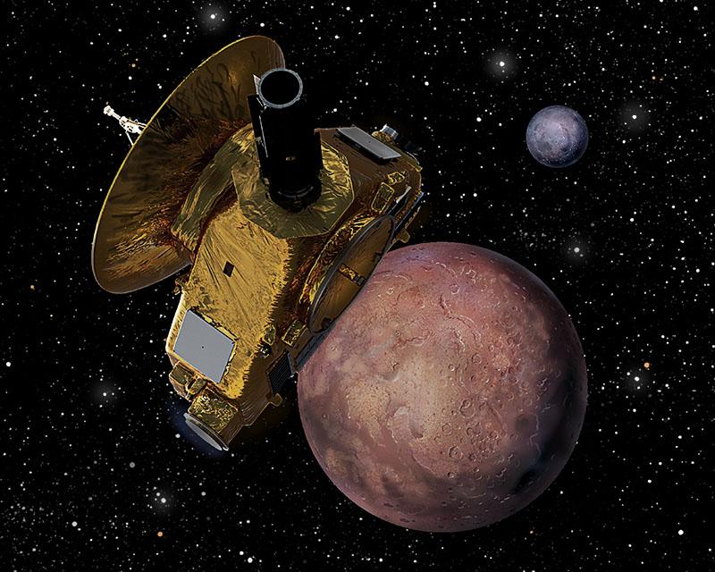 New Horizon Nearing Pluto