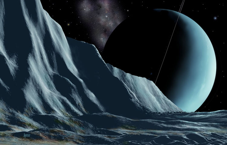 Ice Cliffs of Miranda