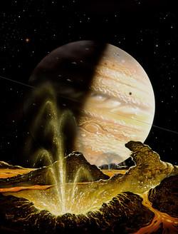 Eruption on Io