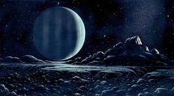 Uranus from Titania