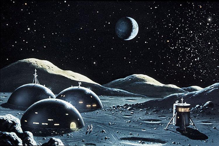 Moonbase by Earthlight 1