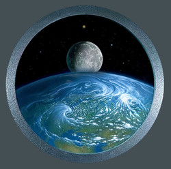Earth-Moon Porthole