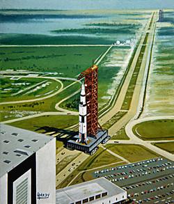 Saturn 5 Crawler