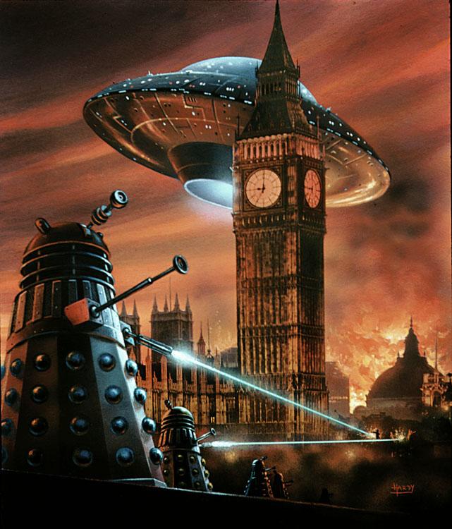 Daleks in London