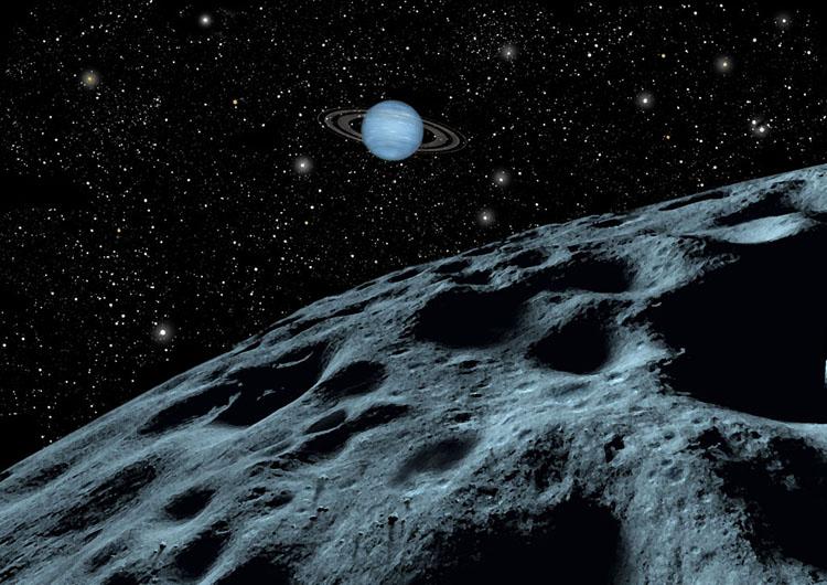 Neptune from Nereid