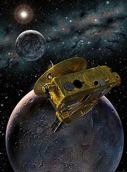 Pluto & Charon with New Horizons