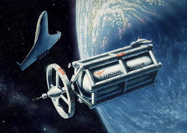 Thomas Cook Wheel Space Station