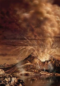 Titan Eruption