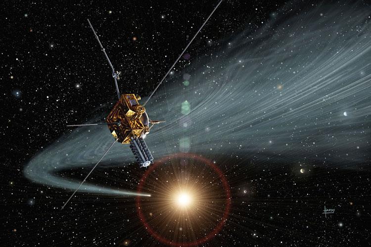 ULYSSES-Comet Tail