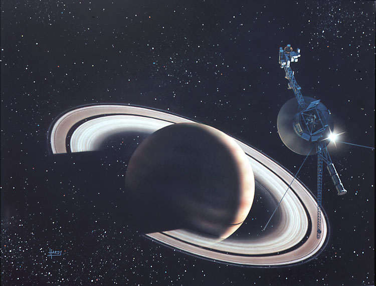 Voyager at Saturn