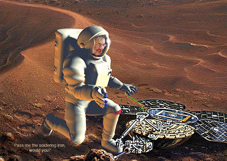 Beagle 2 Pillinger