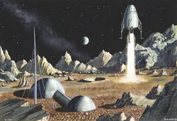 Moon Landing, 1952