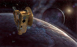 New Horizons at Pluto 2015