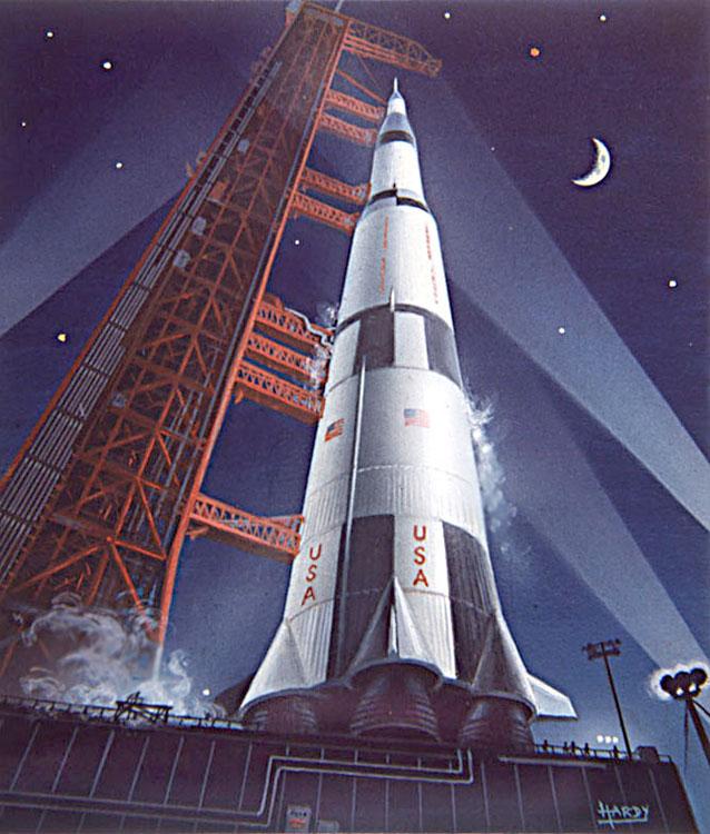 Saturn 5 Night