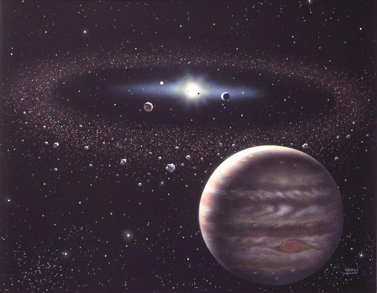 Jupiter & Asteroids