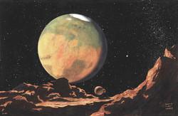 Mars from Deimos