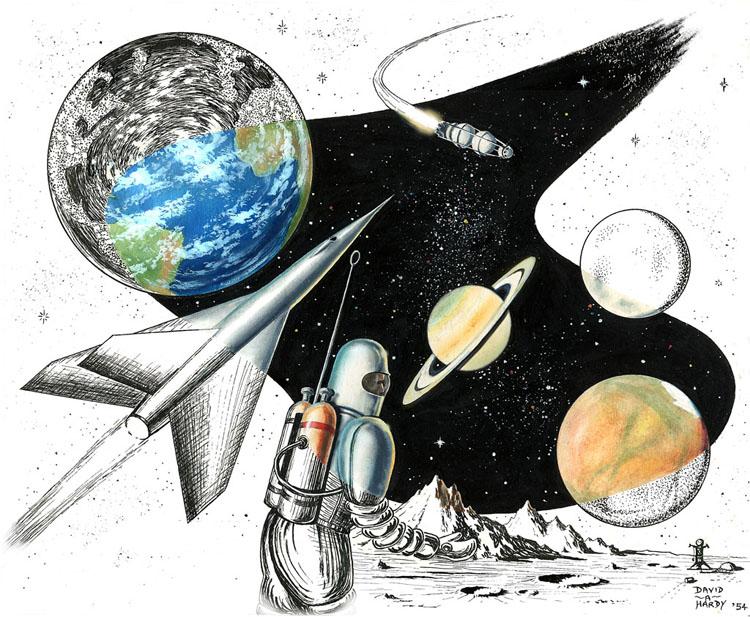 Spaceflight Montage '54