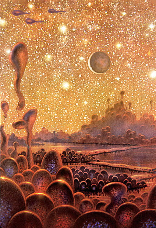Alien Life in a Globular Cluster