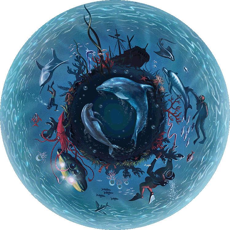 Underwater Wheel